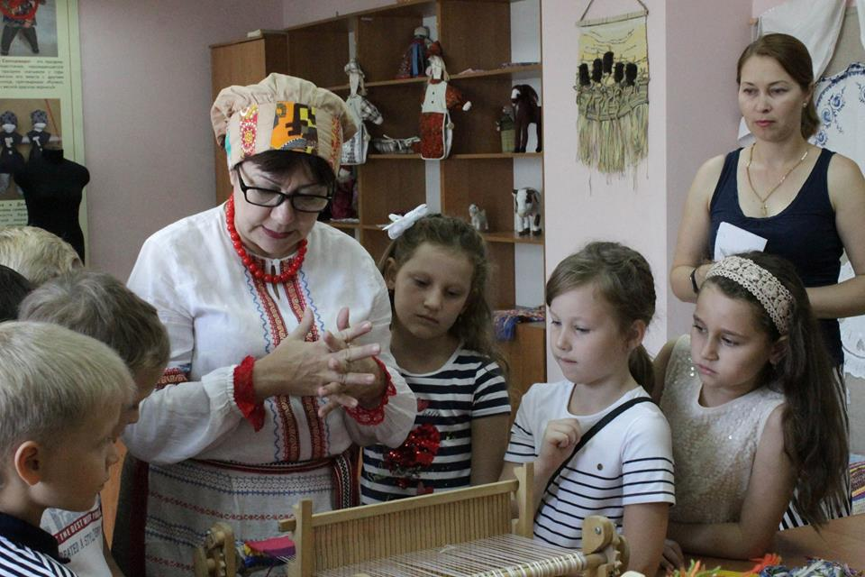 Астраханские школьники отметили 1 сентября в Доме ремесел