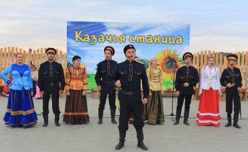 В   Астрахани прошел праздник казачьей культуры