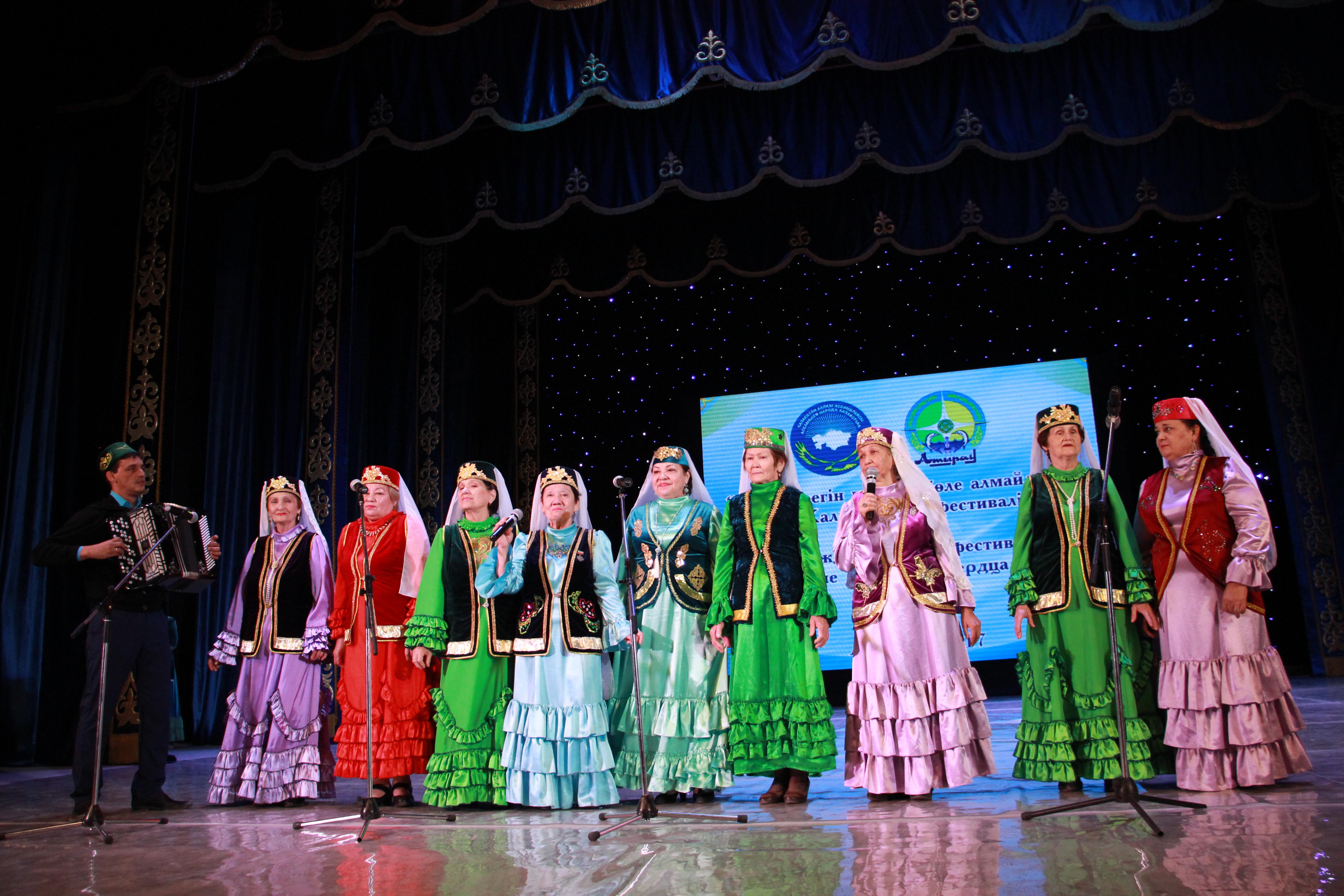 Астраханские коллективы выступили на Международном фестивале  в г. Атырау
