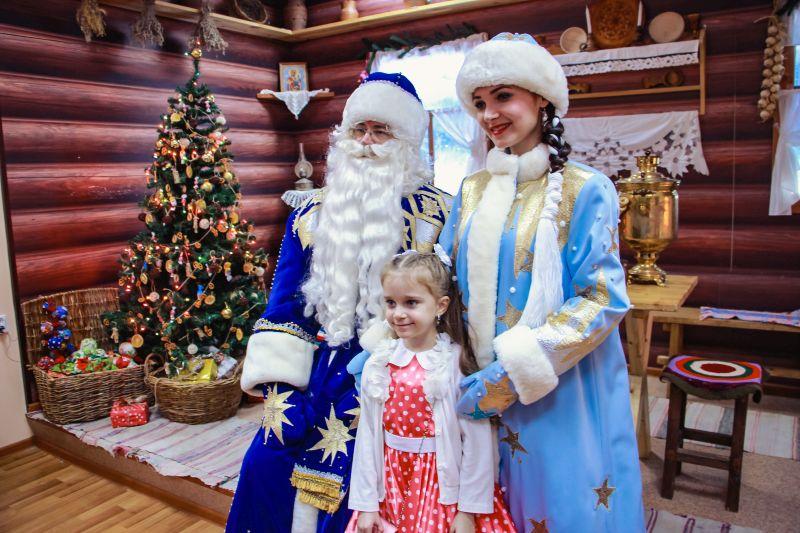 Интерактивная программа «В гостях у Деда Мороза»