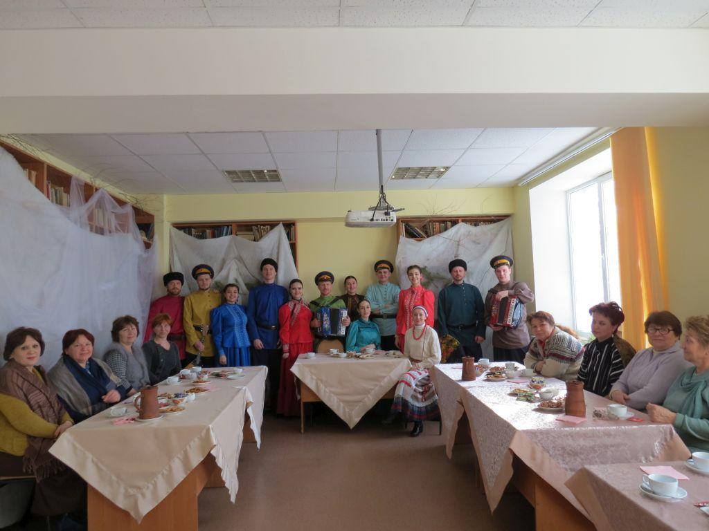 В Астрахани состоялись «Казачьи посиделки»