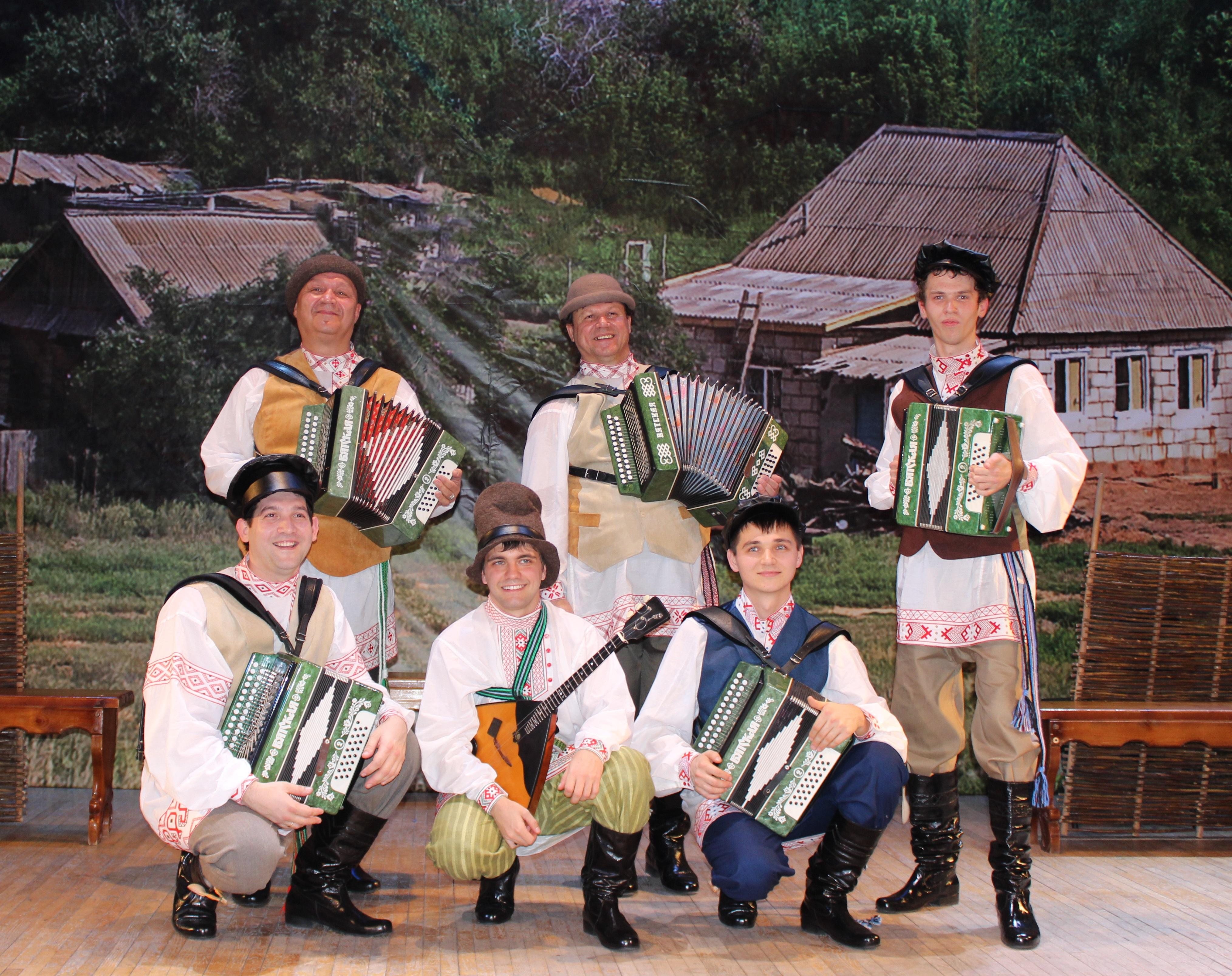 Ансамбль «Русский строй» примет участие в съемках передачи  «Играй, гармонь»