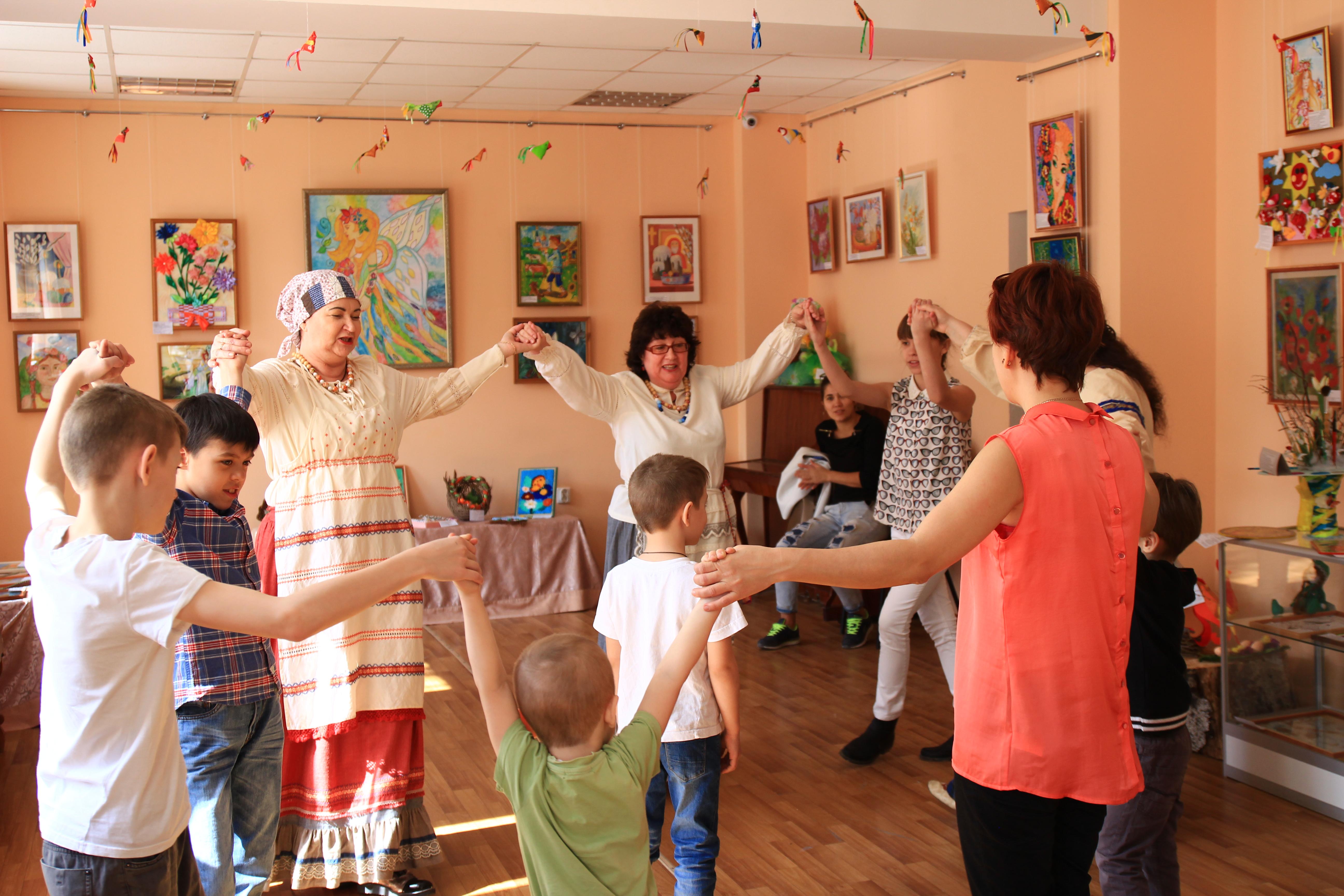 Интерактивная программа «Пасха – светлый праздник»  прошла в Доме ремесел