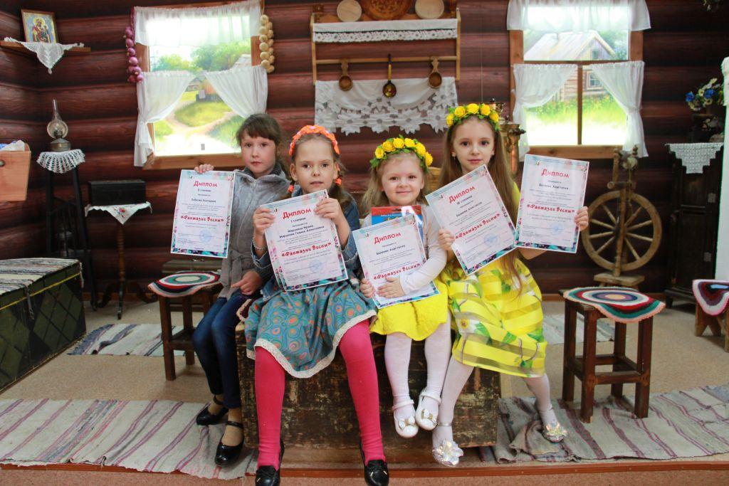 Подведены итоги детского конкурса «Фантазии Весны»