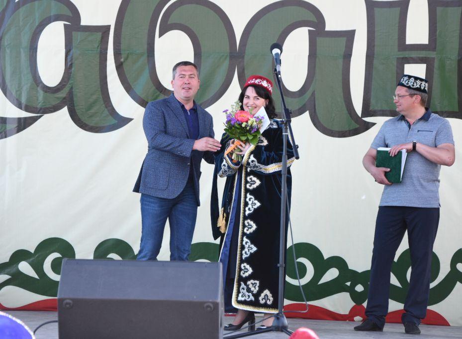 В Астрахани состоялся Сабантуй