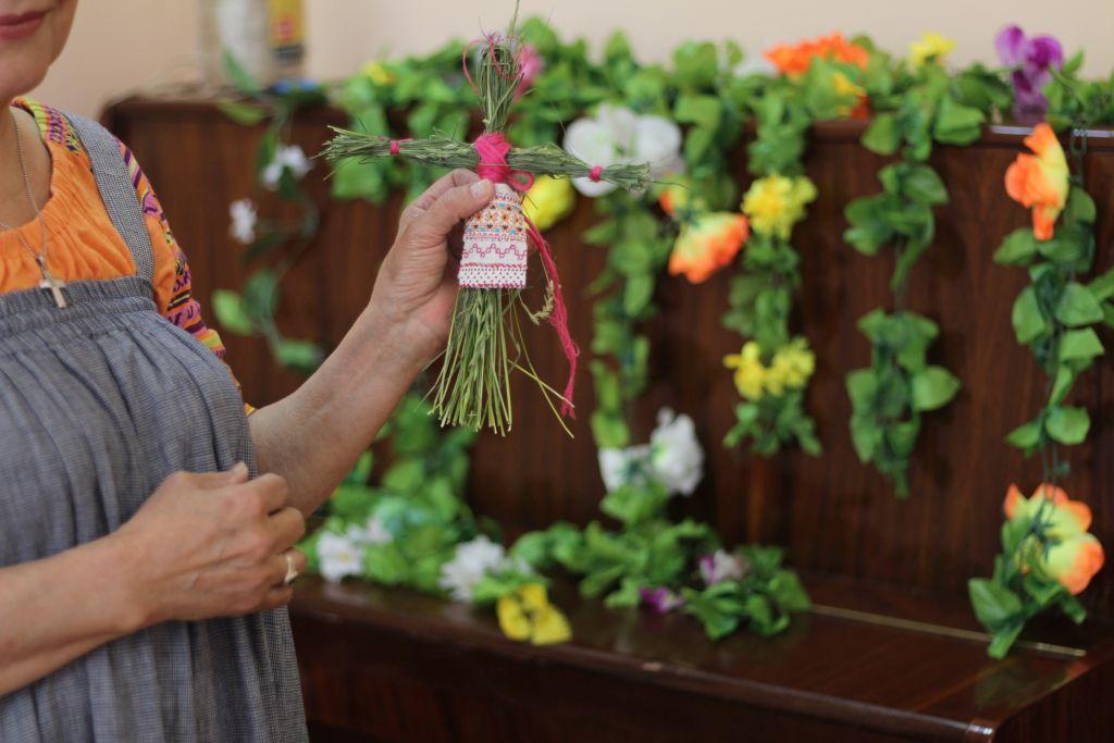 В Астрахани прошли мероприятия, посвященные Зелёным святкам