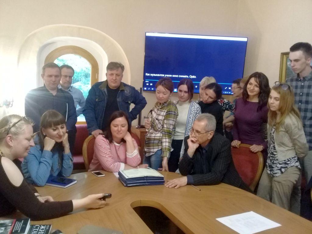 Сотрудник Астраханского центра народной культуры принял участие в семинаре в Москве