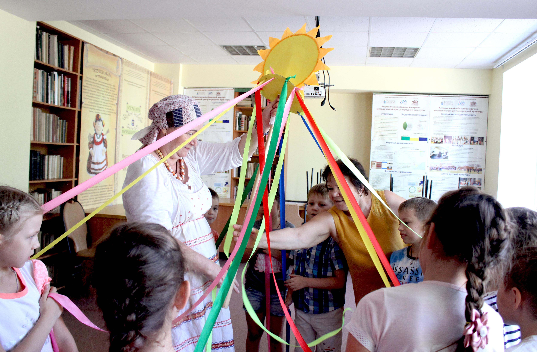 В Доме ремесел прошли интерактивные программы для детей