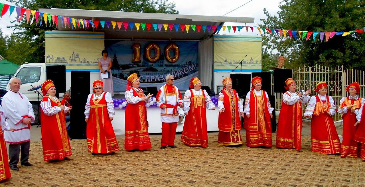 Жители села Яманцуг отметили 100-летний юбилей