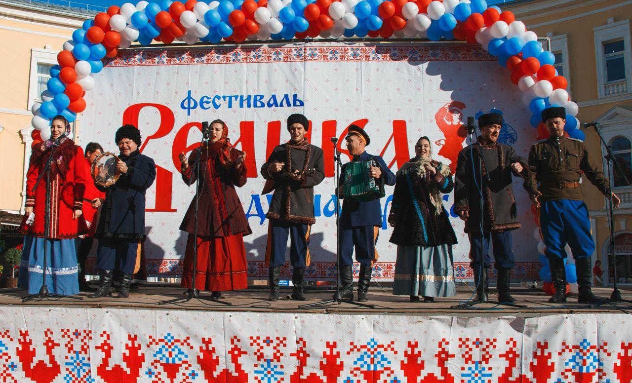 Творческие коллективы Астраханского центра народной культуры  приняли участие в фестивале «Велика душа русская»