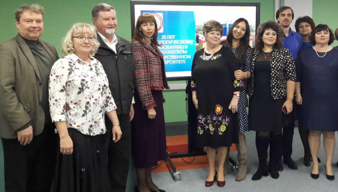 Сотрудник Астраханского центра народной культуры  принял участие в круглом столе