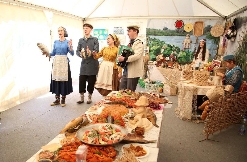 Астраханцы приняли участие в гастрономическом фестивале в Пятигорске