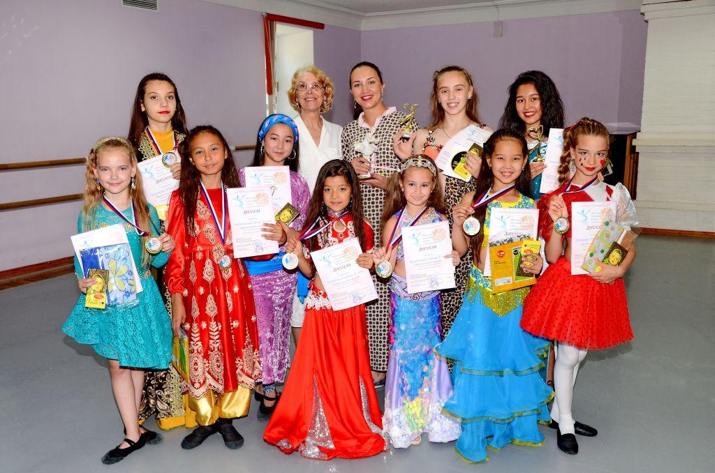 В Астрахани прошел областной хореографический конкурс  соло-исполнителей