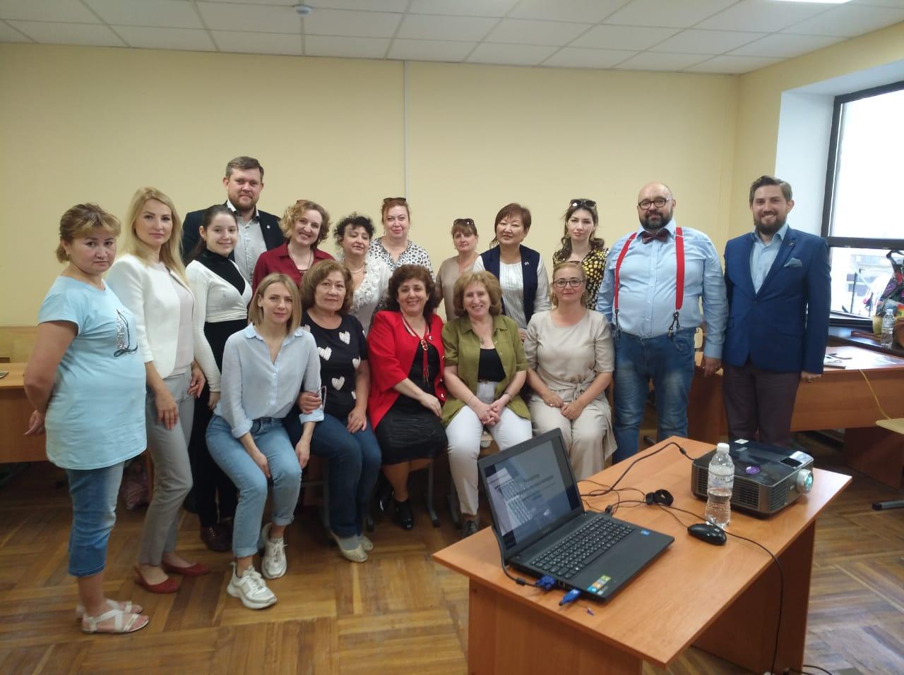 Сотрудники областного центра народной культуры приняли участие  в семинаре в Ростове-на-Дону