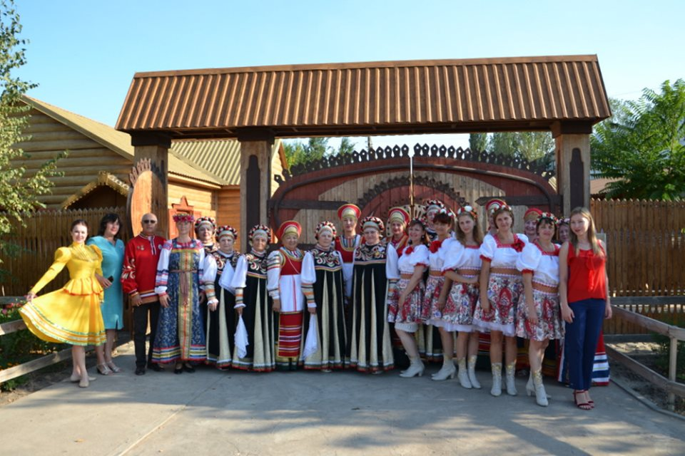 Творческая встреча Волгоградского ансамбля «Услада» и самодеятельными коллективами Приволжского района