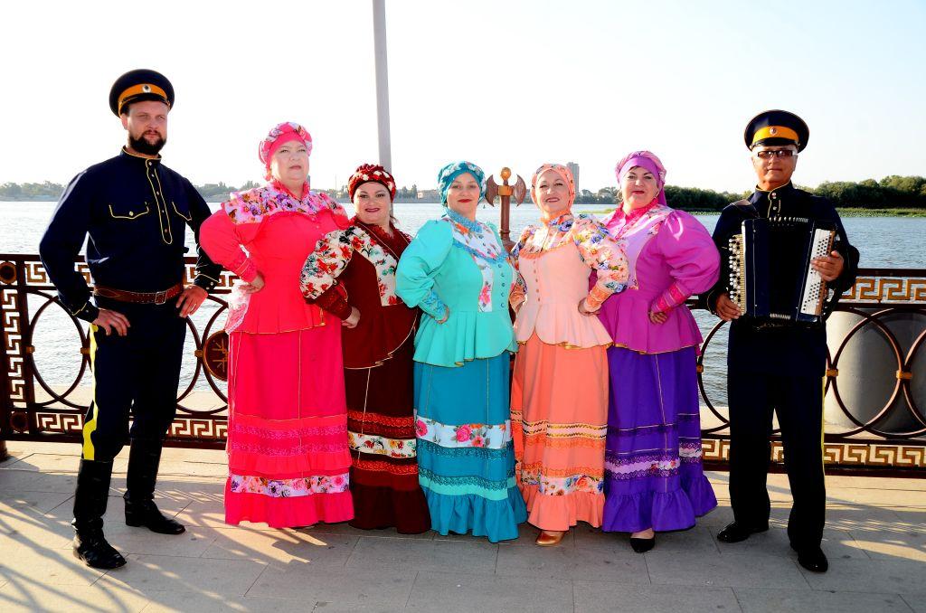 В Астрахани прошел областной праздник казачьей культуры