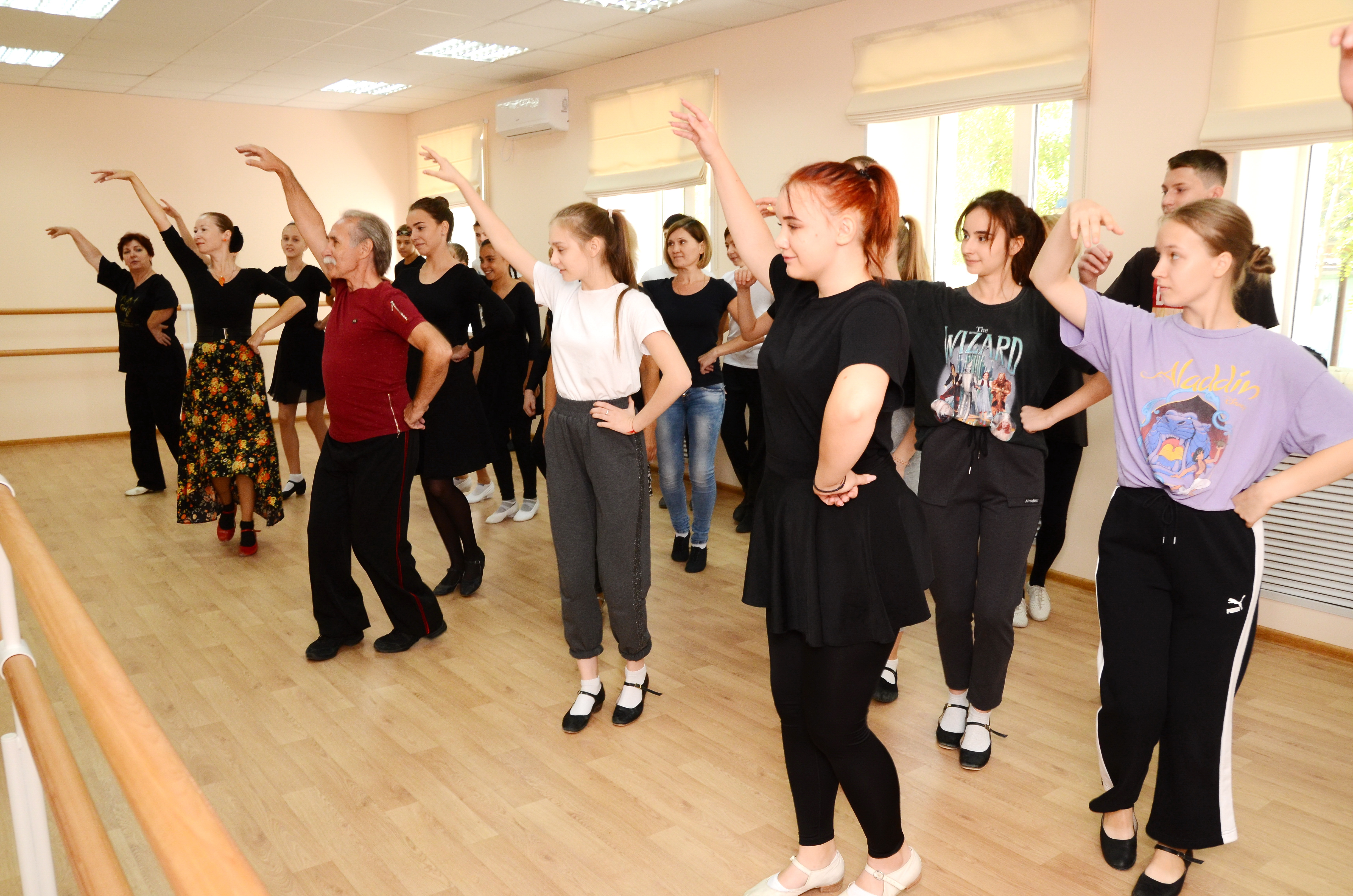 Мастер-классы по хореографии прошли в Астрахани