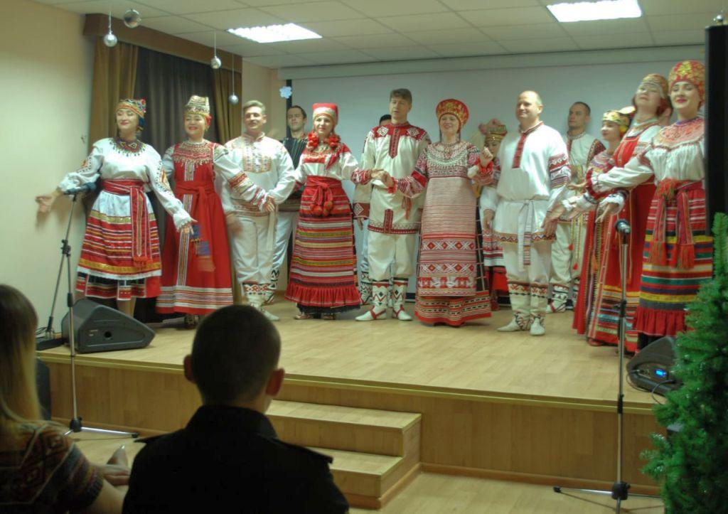 В Доме Дружбы состоялась праздничная концертная программа «Наш дом – Россия»