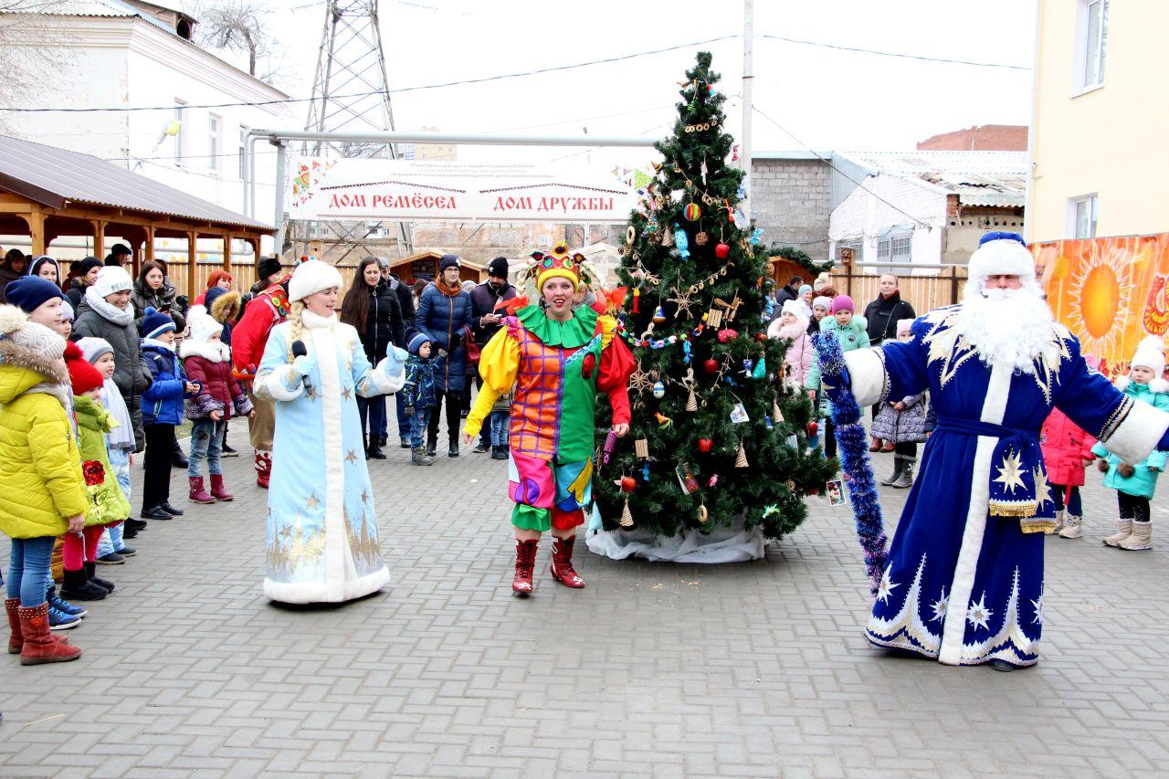 Новогодние и рождественские интерактивные программы Дома ремесел и Дома дружбы