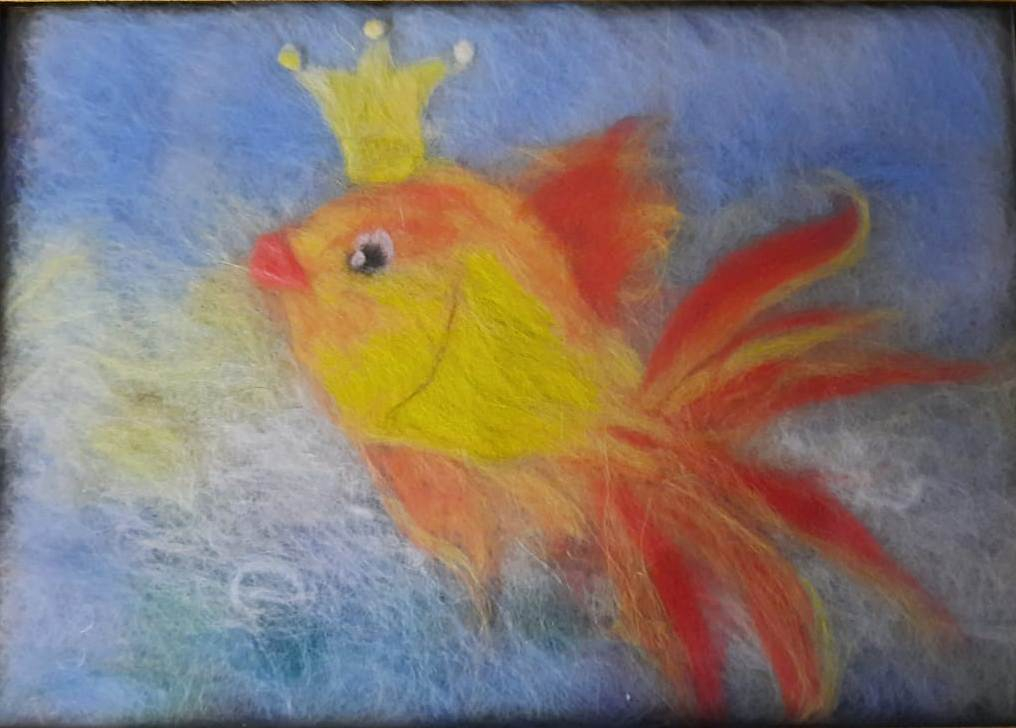 Виртуальный мастер-класс «Золотая рыбка»