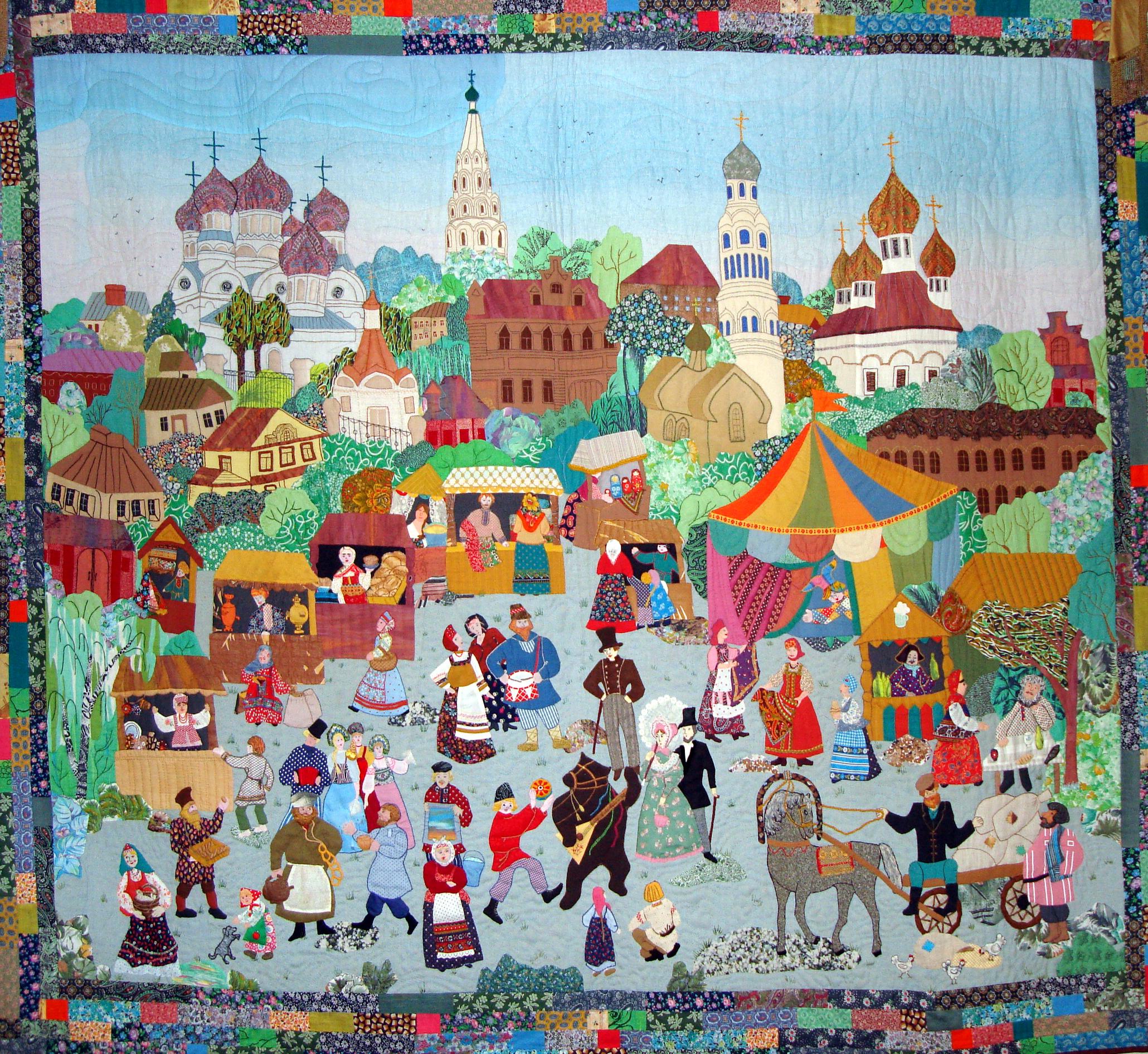 В Доме ремесел пройдет выставка лоскутного шитья мастеров России