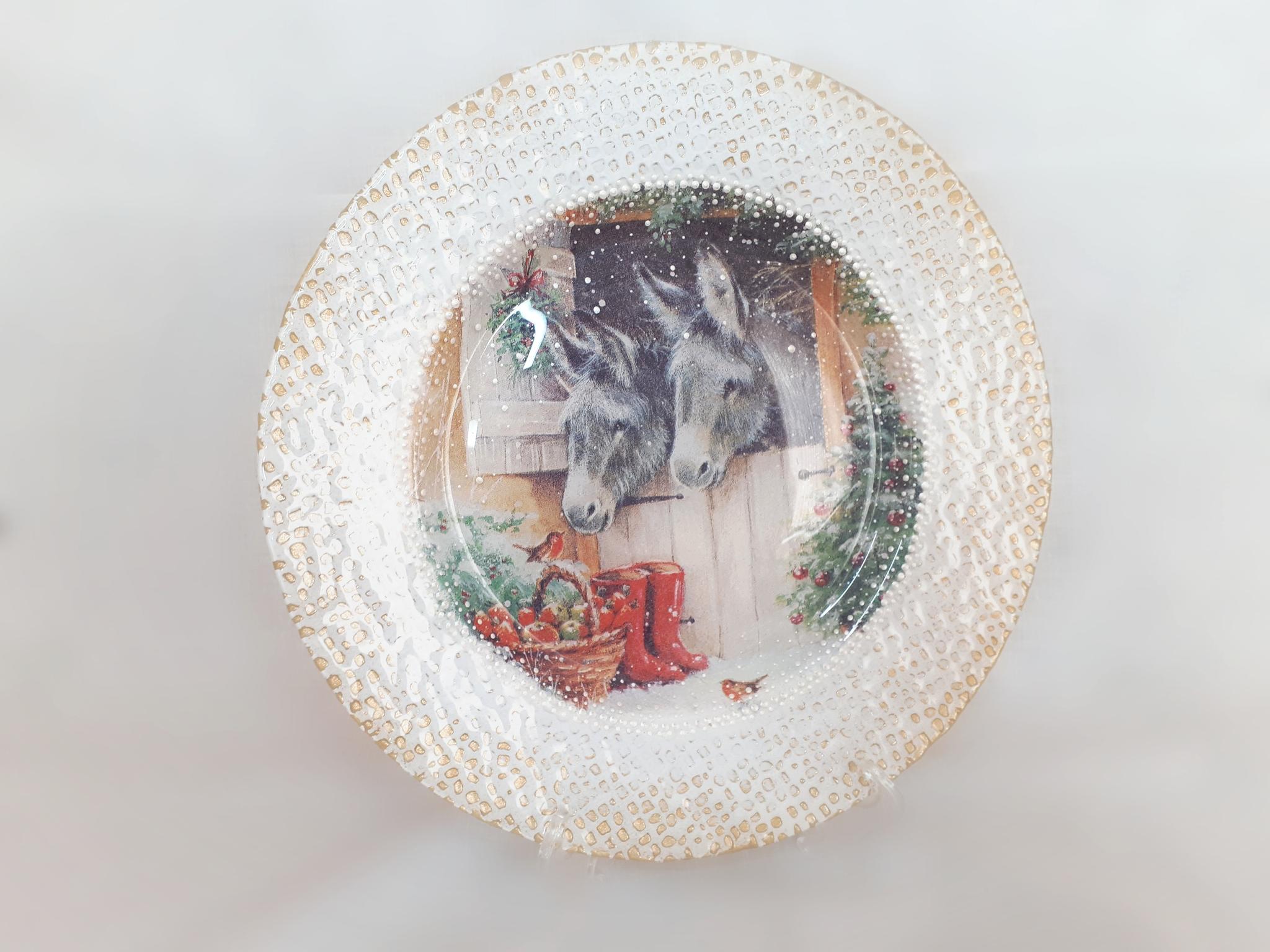 Мастер-класс «Сувенирная тарелка»