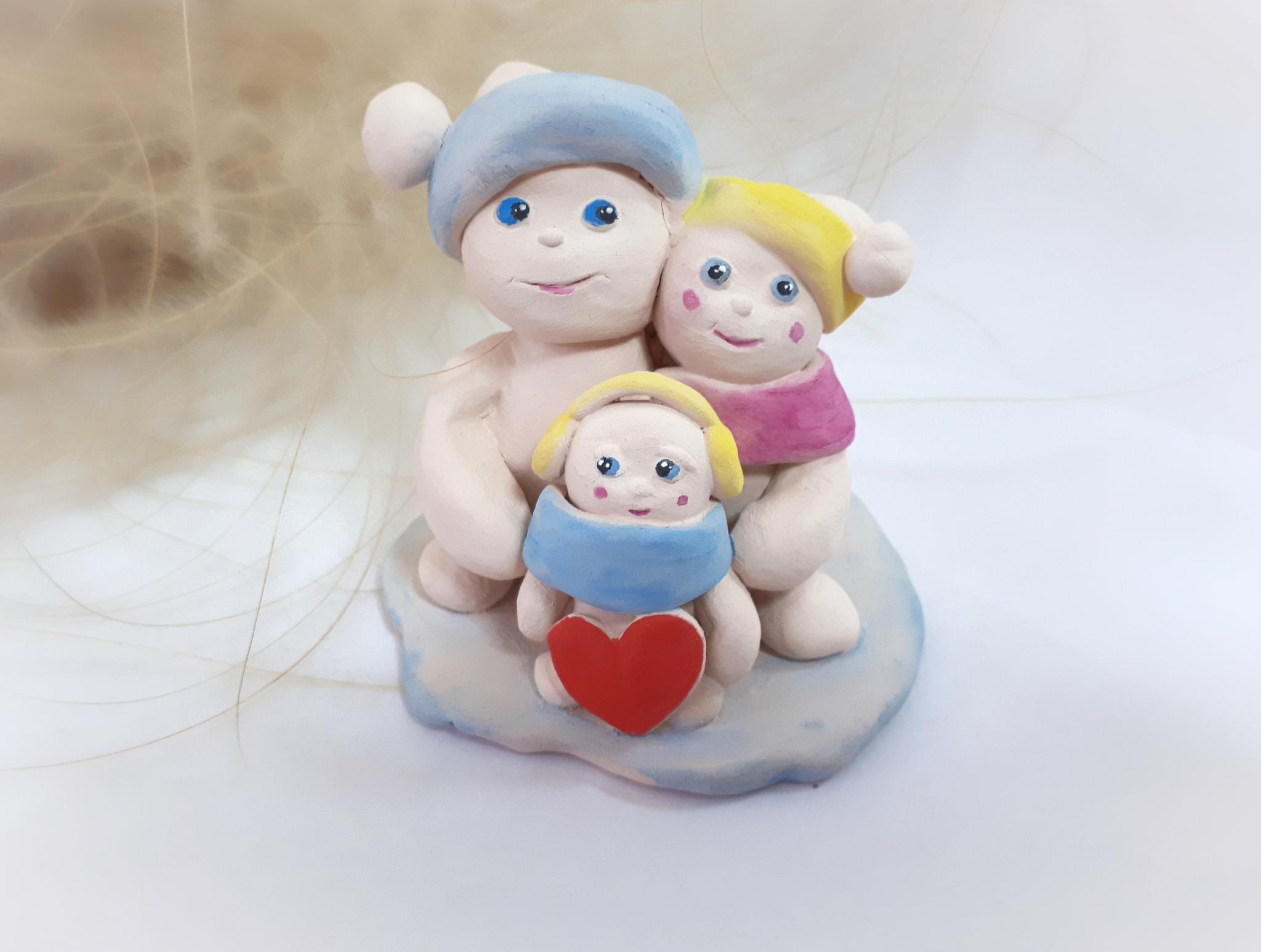 Мастер-класс «Снежная семейка»