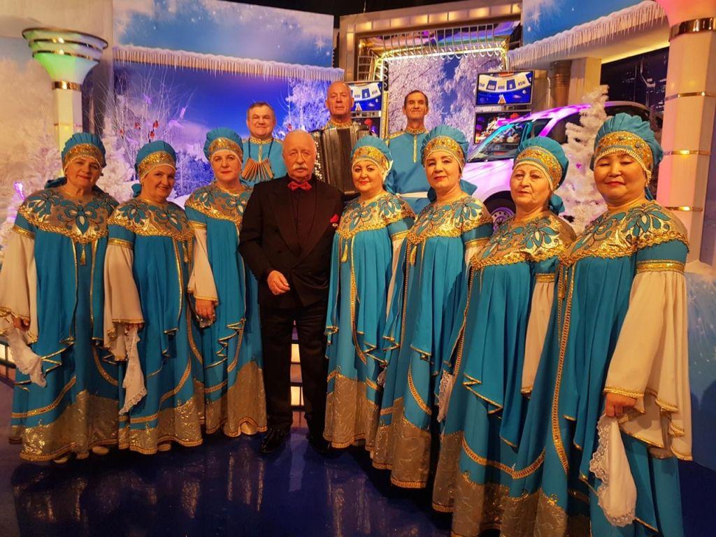 Астраханский коллектив «Воложка» выступил в программе «Поле чудес»