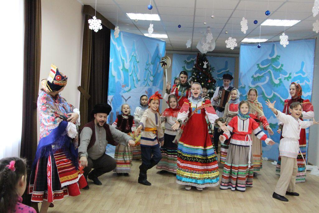 Крещенские посиделки прошли в Астрахани