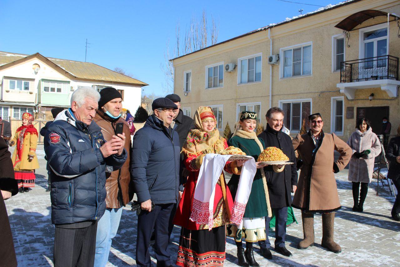 В Доме дружбы и Доме ремесел побывала делегация из Татарстана