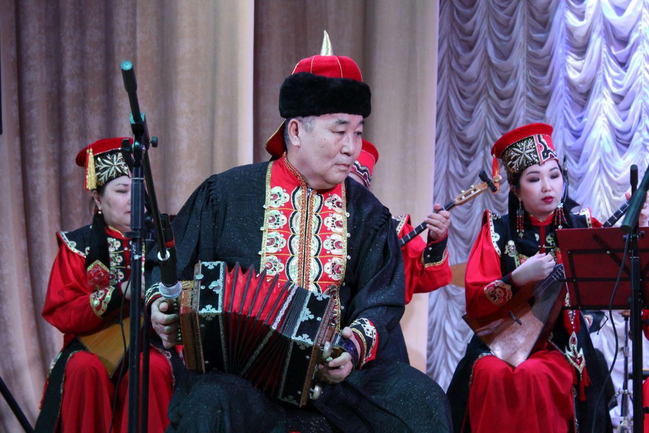 В Лимане состоялся концерт Национального оркестра Калмыкии