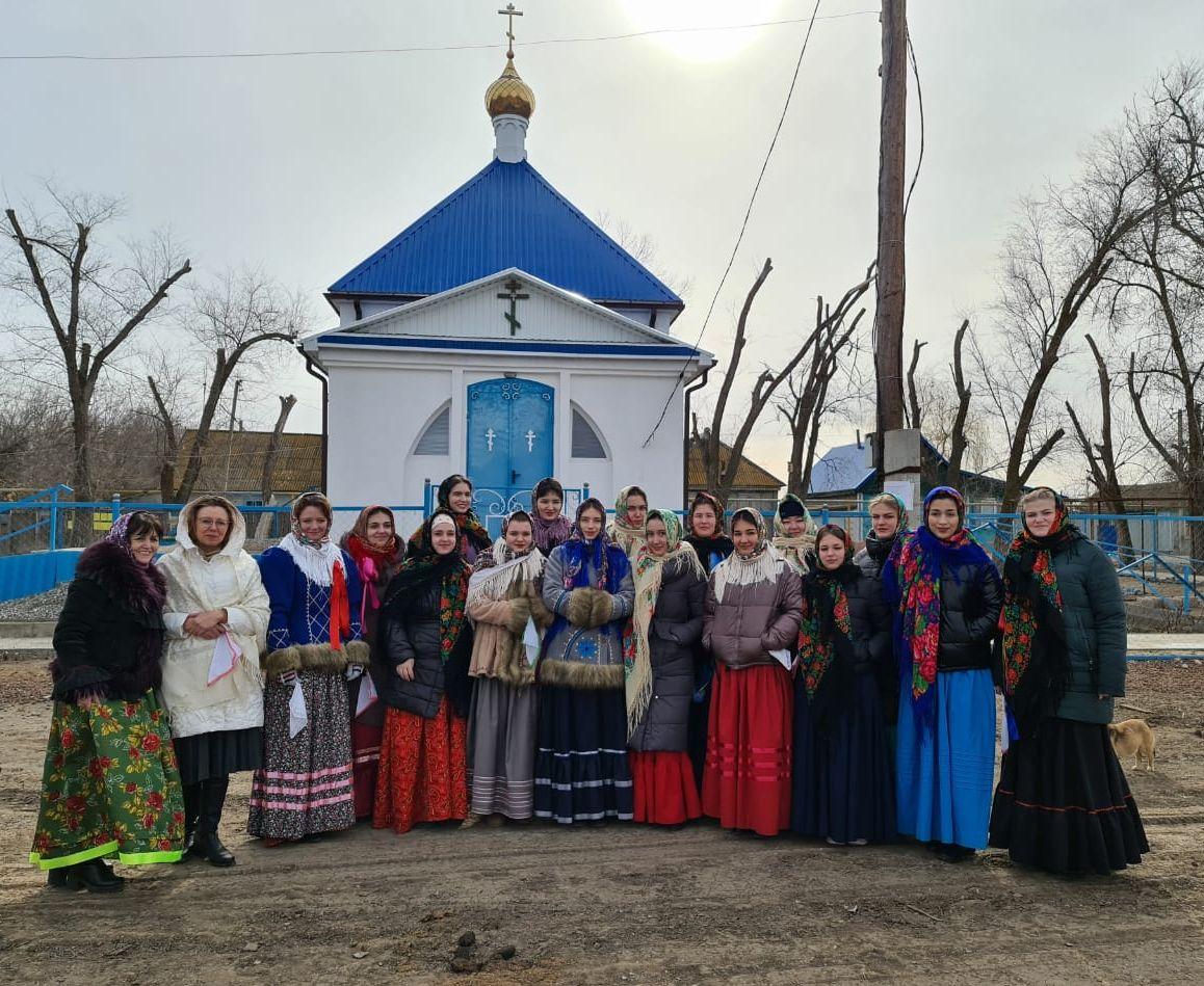 Ансамбль «Бударочка» участвовал в масленичном обряде старообрядцев-липован