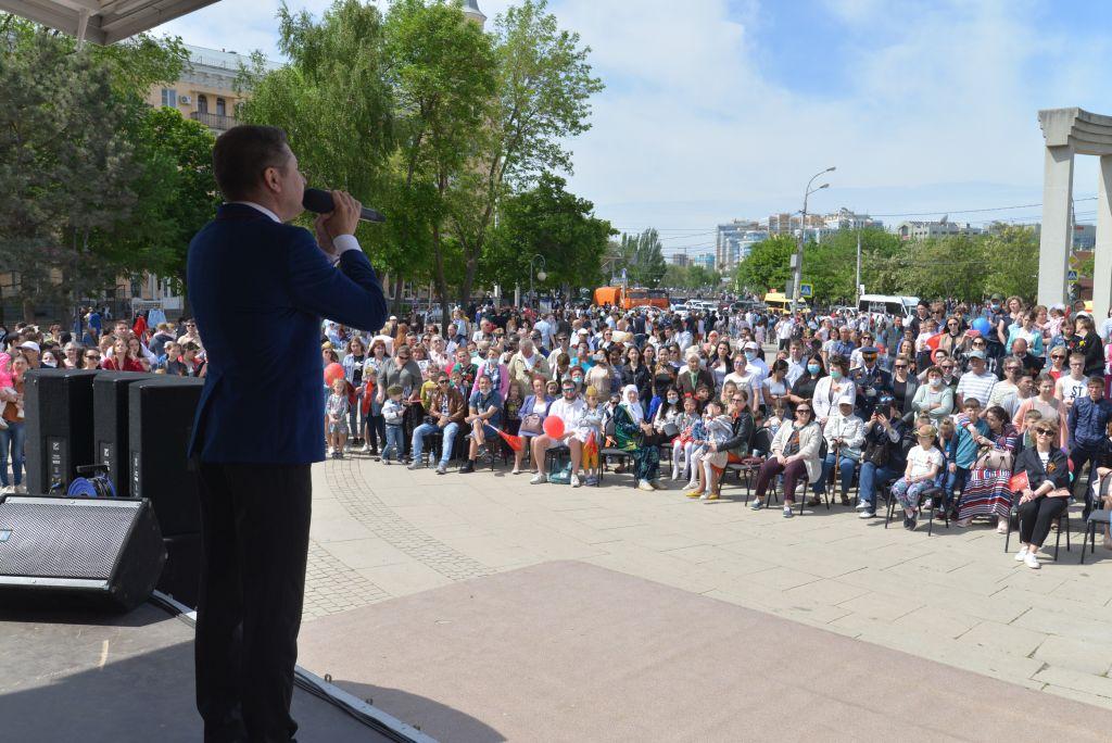В Астрахани отметили День Победы